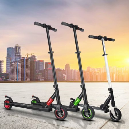 MEGAWHEELS S1 Electric Scooter - Lightweight, Foldable, Portable Electric Kick Scooter Speeds Up to 14MPH and 5-8 Miles - Suitable for Riders Under 150 (Best Used Scooter Under 1000)