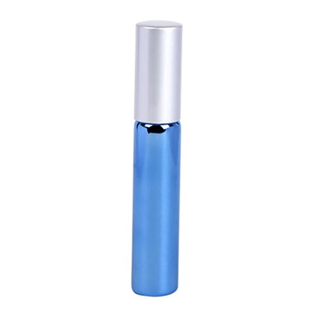 Empty Roller Rack (Tuscom New 1Pc 10ml Roll On Stainles Steel Roller Ball Liquids Oil Perfume Bottle Empty )