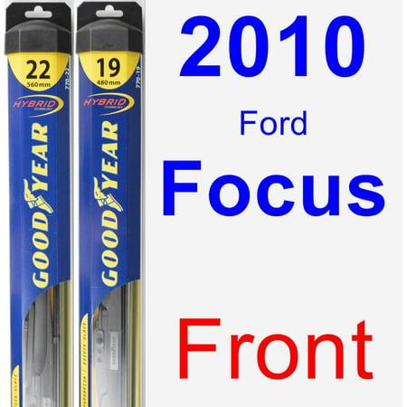 2010 Ford Focus Wiper Blade Set Kit Front 2 Blades Hybrid