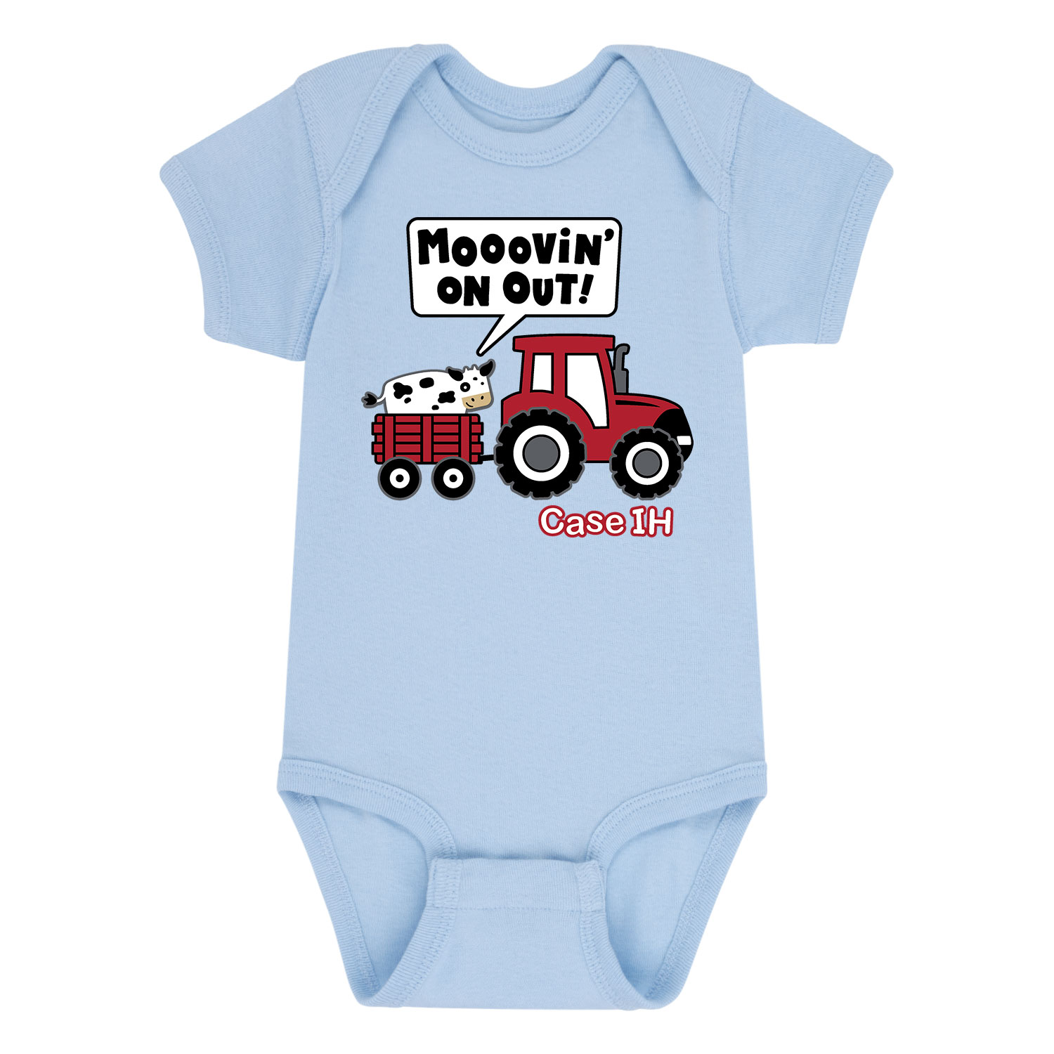 Country Casuals Mooovin On Out Case Ih Baby One Piece Walmart Com Walmart Com