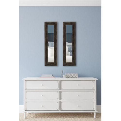 Brayden Studio Panel Accent Mirror (Set of 2)