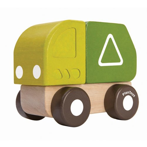 Plan Toys 5440 Mini Garbage Truck Toy