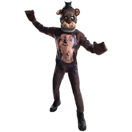 Five Nights at Freddys: Nightmare Freddy Child Costume](Halloween Horror Nights Freddy Jason Leatherface)