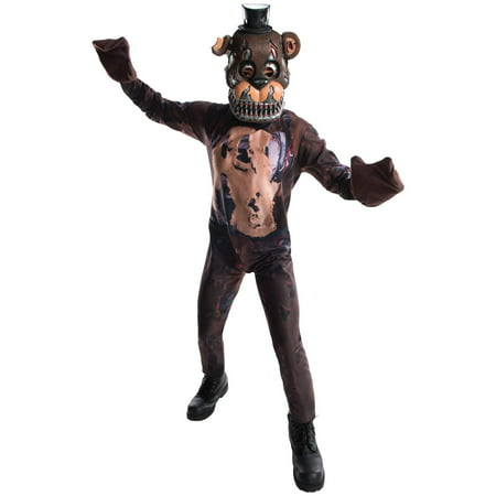 Five Nights at Freddys: Nightmare Freddy Child Costume - Halloween Horror Nights Freddy Jason Leatherface
