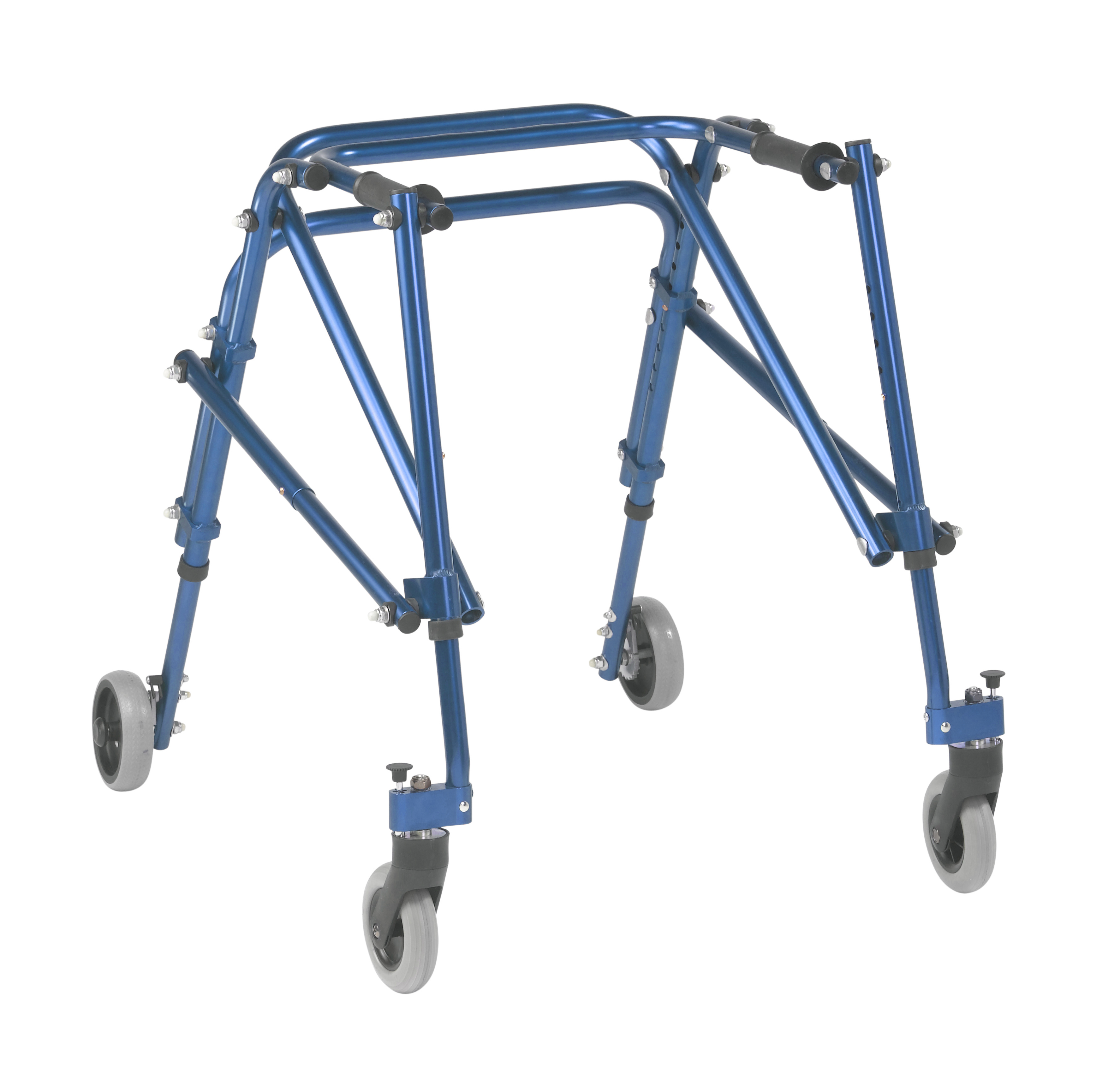 Inspired by Drive Nimbo 2G Lightweight Posterior Walker, Medium, Knight Blue