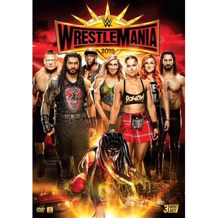 WWE: Wrestlemania 35 (DVD) (Wwe Tin Dvd)