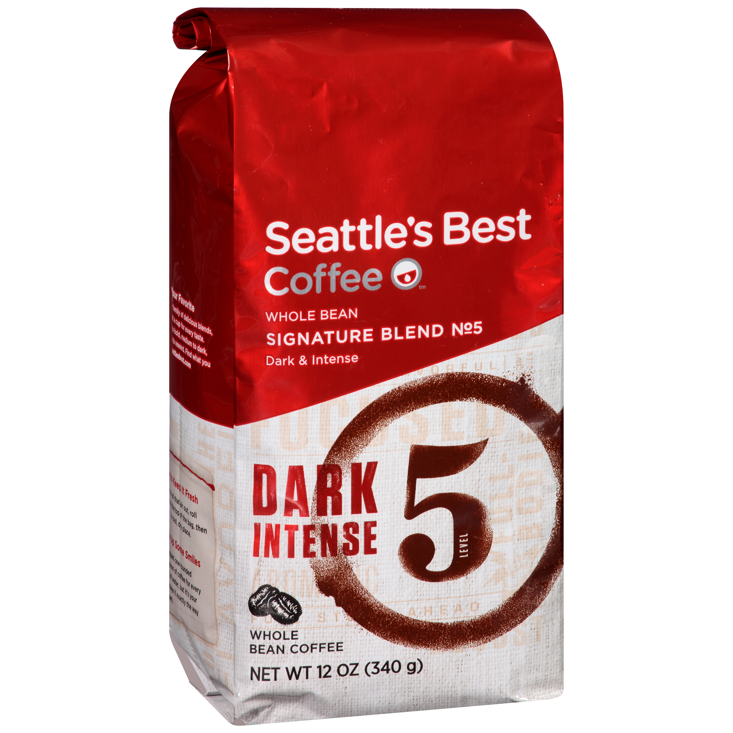 Seattle's Best Coffee��� Signature Blend No. 5 Dark & Intense Whole Bean Coffee 12 oz. Bag
