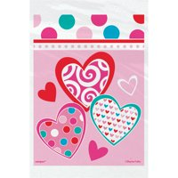 Bright Hearts Valentine's Day Treat Bags, 50ct