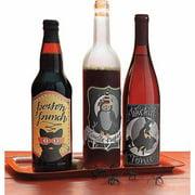 Martha Stewart Animal Masquerade Wine Labels 6/Pkg -