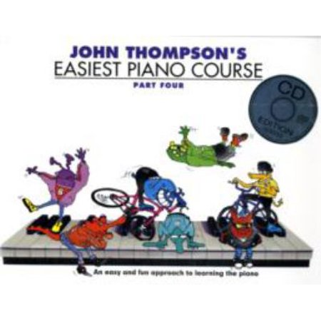John Thompsons Easiest Piano 4  Book   Cd   Paperback