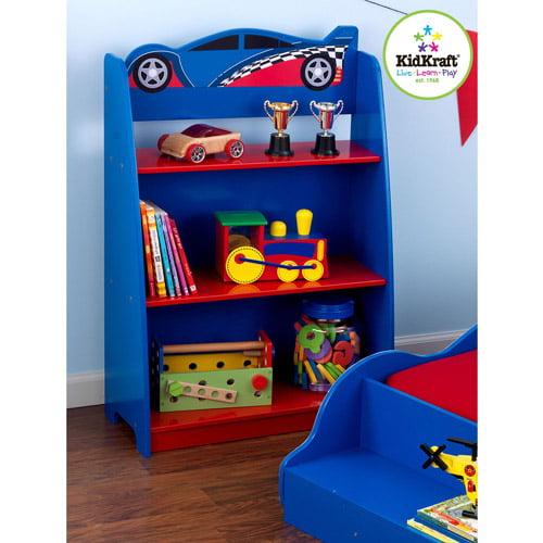 KidKraft - Racecar Bookcase