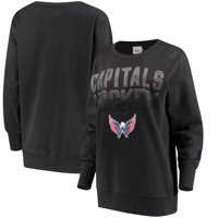 Washington Capitals G-III 4Her by Carl Banks Women s Showtime Pullover  Crewneck Sweatshirt - Black 2f2f6bd07