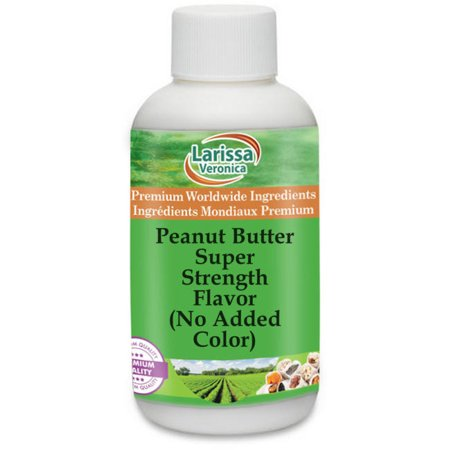 Peanut Butter Super Strength Flavor (No Added Color) (1 oz, ZIN: 527844) - 2-Pack Peanut Flavored Sauce