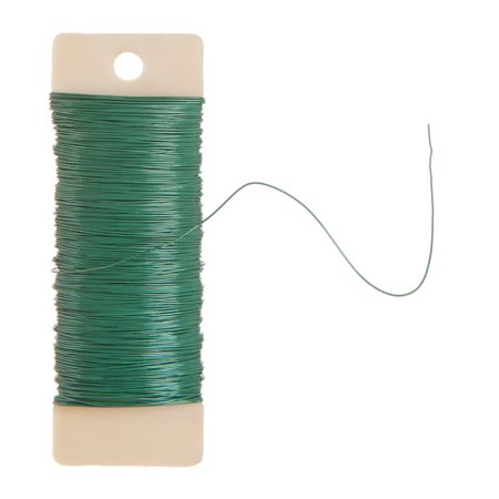 Floral Paddle Wire Green 22 Gauge (Floral Wire)