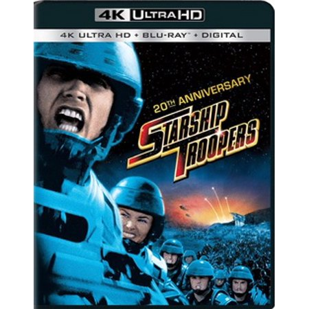 (Starship Troopers: 20th Anniversary (4K Ultra HD + Blu-ray + Digital HD))