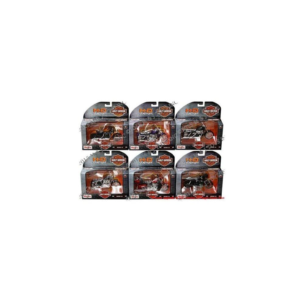 NEW 1:18 MAISTO MOTORCYCLES HARLEY DAVIDSON COLLECTION - ...
