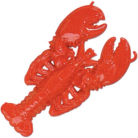 Plastic Lobster Party Accessory (1 count), By
