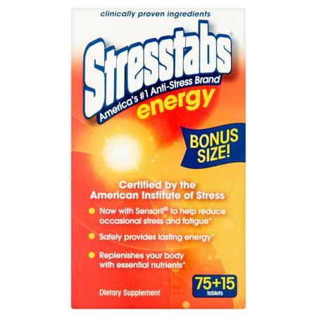 (2 pack) Stresstabs Energy Tablets, 90 Ct