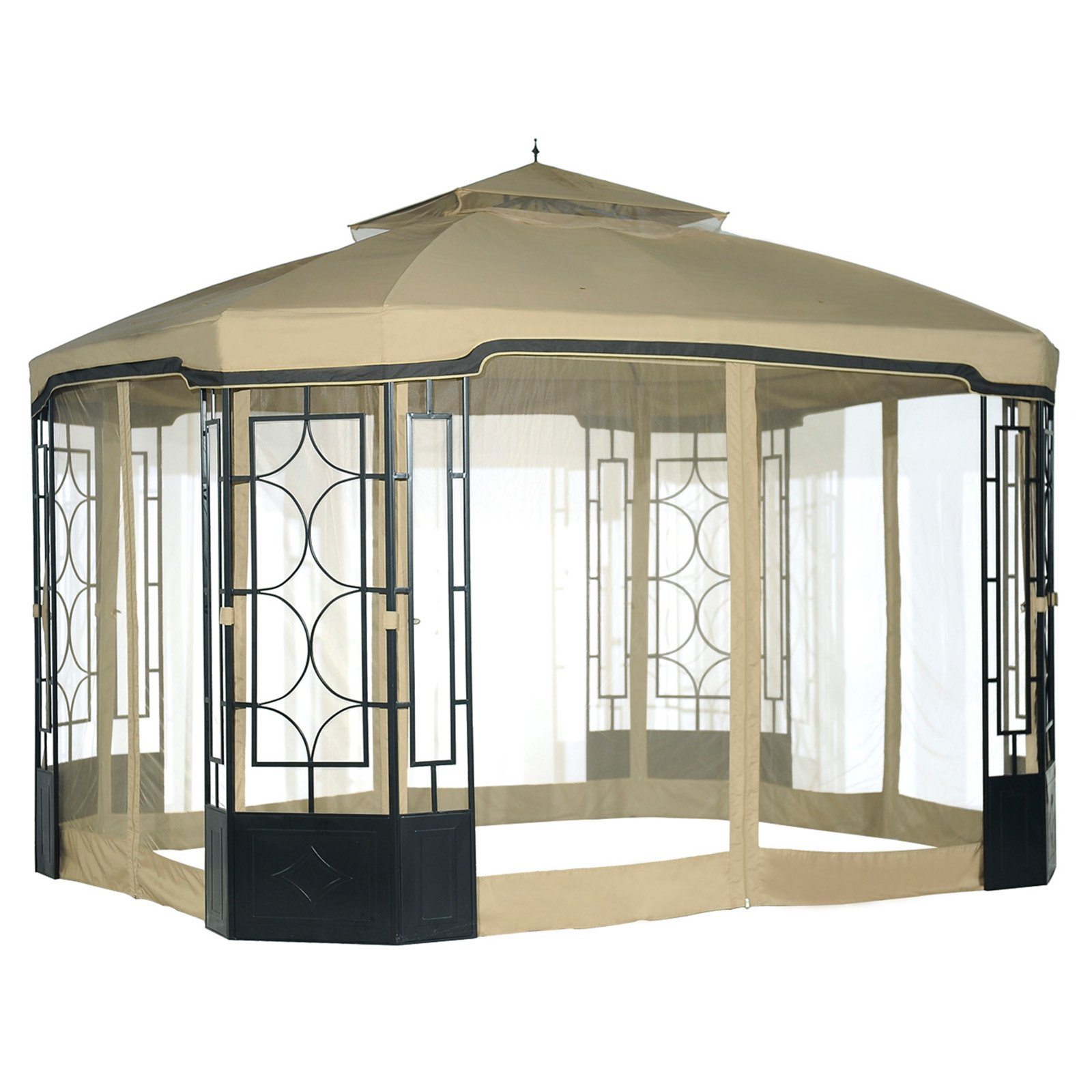 Sunjoy Mosquito Netting for 10 x 12 ft. Alcove Gazebo by