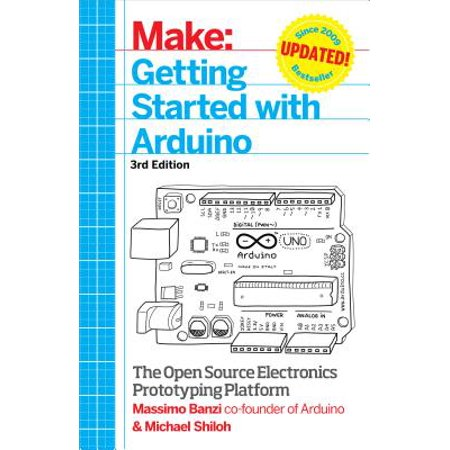 Getting Started with Arduino - eBook](getting started in electronics)