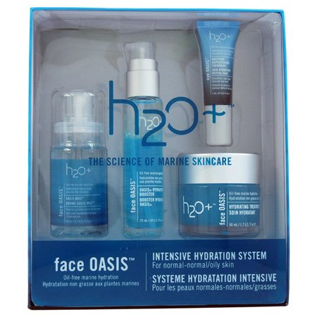 H2O+ H2O Plus Oasis Intensive Hydration System 4-piece Kit