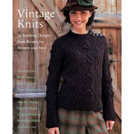 Rowan Knitting Magazine (Vintage Knits : 30 Knitting Designs from Rowan for Women and Men )
