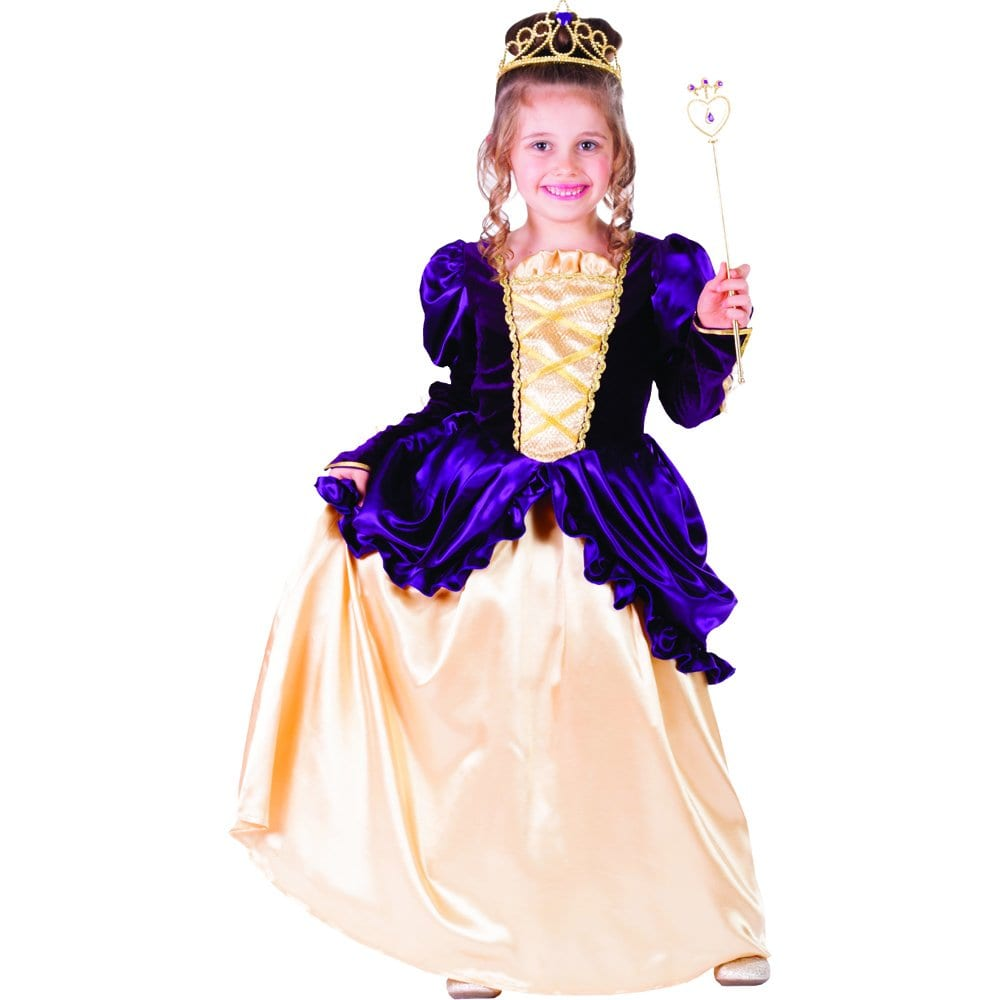 Dress Up America Purple Belle Ball Gown Costume