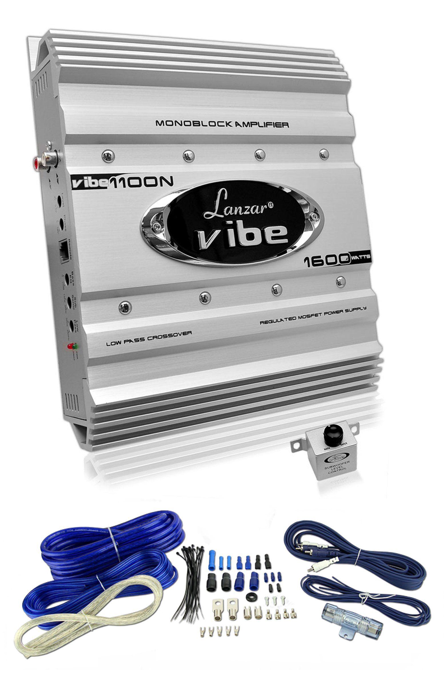 Lanzar Amp Wiring Kit Wire Center Best Amplifier New Vibe1100n 1600 Watt Mono 1 Channel Car Audio Rh Walmart Com 1000