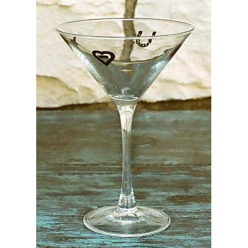 West Creation Western 12 Oz. Martini Glass (Set of 4)