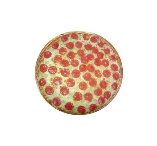 Round Pizza Dog Bed (Small)