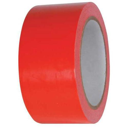 "Red Floor Marking Tape, Value Brand, 15D7232""W"