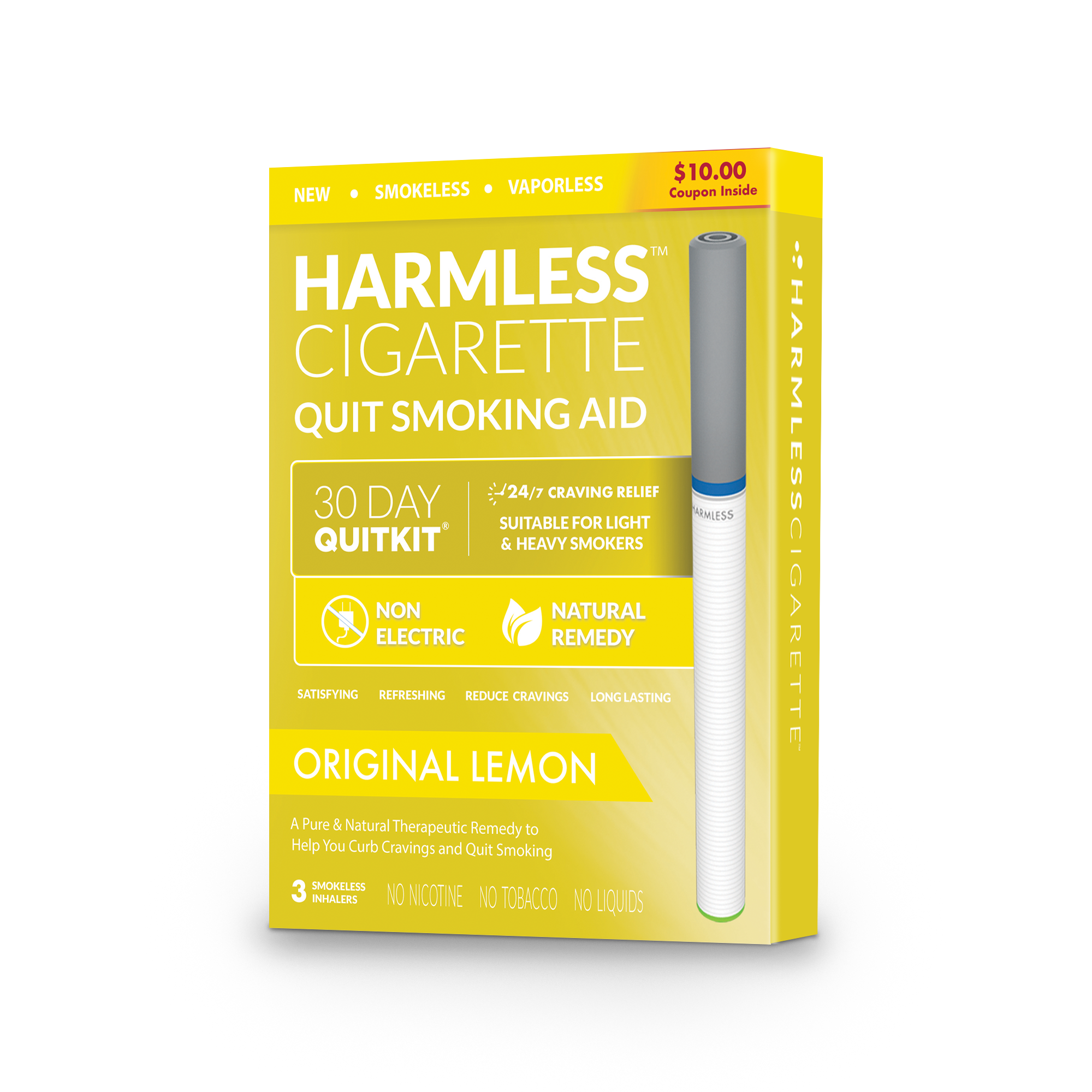 Smoking Cessation Product / Stop Smoking Aid / Satisfy & Reduce Cravings / Natural Habit Replacement And Quit Smoking Solution To Help You Successfully Quit Smoking
