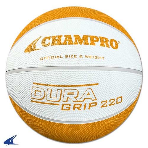 CHAMPRO Super Grip Rubber Basketball Women's White/Gold