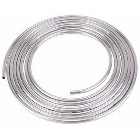 Tubing 25ft Roll (1/2 OD Aluminum Hard Fuel Line/Tubing, 30 Foot Roll )