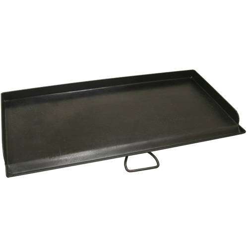 Camp Chef Deluxe Griddle Covers 2 Burners On 2 Burner Stove by Camp Chef
