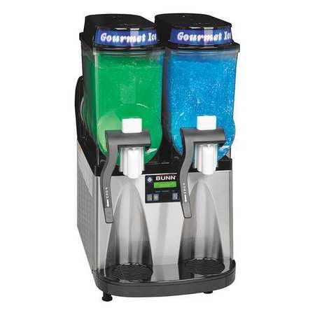 BUNN ULTRA 2 SST/BLK Frozen Beverage Dispenser, SS and Black Bunn Stainless Steel Beverage Dispenser