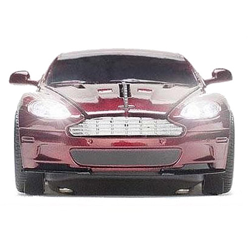 E-Stand Aston Martin DBS Optical Mouse, Magnum Red