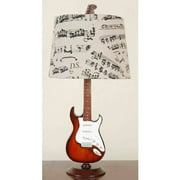"24.5"" Guitar Desk Lamp/Shade"