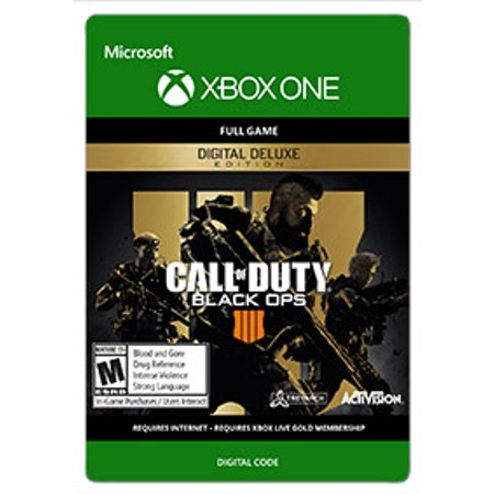 CALL OF DUTY?: BLACK OPS 4 - DIGITAL DELUXE, Acitivision, Xbox, [Digital