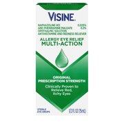 Visine Allergy Relief Multi-Action Antihistamine Eye Drops, 0.5 fl. oz
