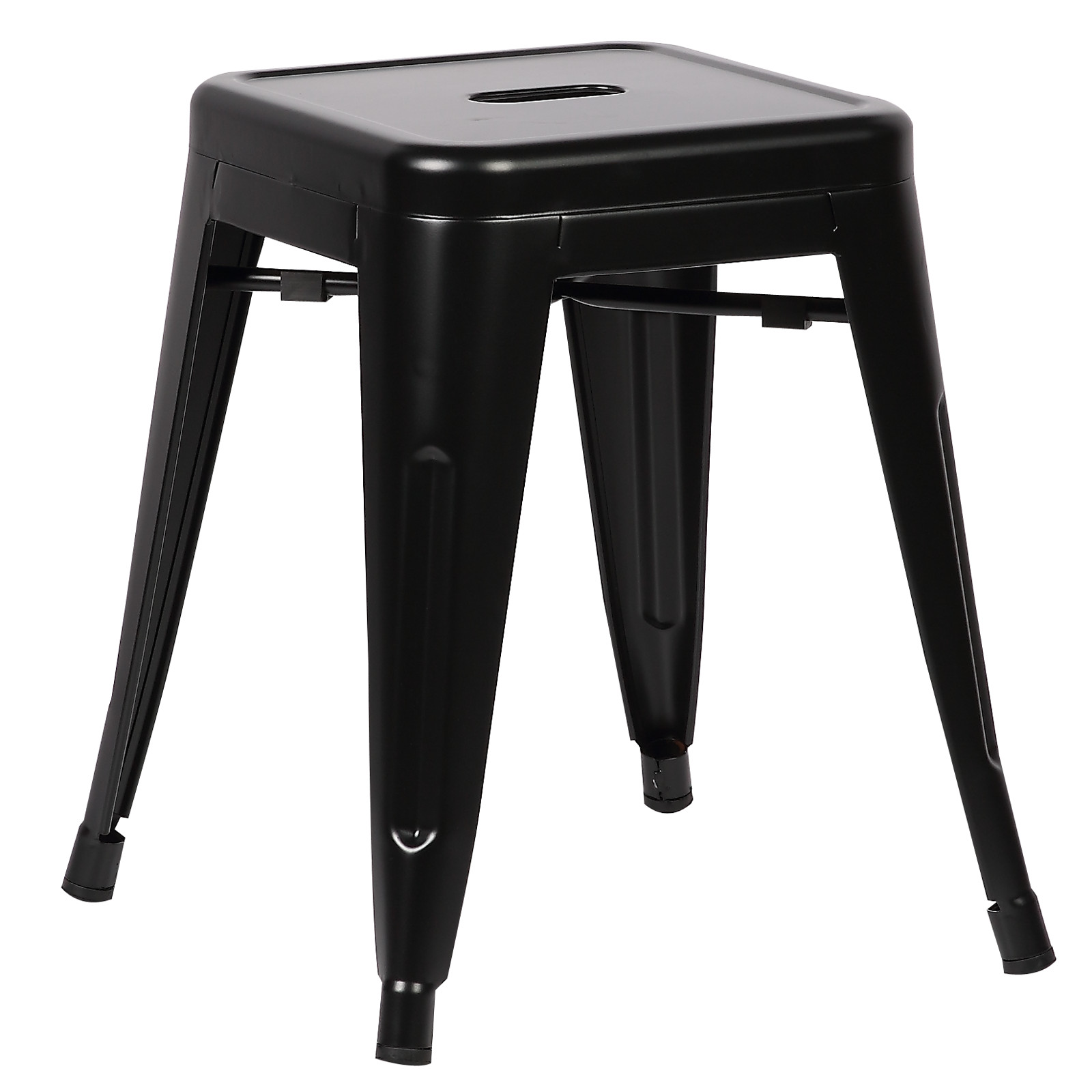 """Poly and Bark Trattoria 18"""" Stool in Black"""