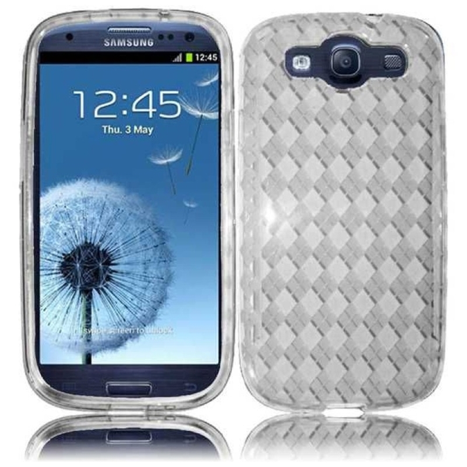 Insten For Samsung Galaxy S III S3 i9300, i747, L710, T999,i535 TPU Cover Case Skin - Clear
