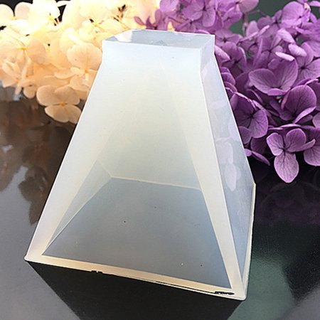 babydream1 Pyramid Silicone Mould DIY Resin Decorative Craft Jewelry Making Mold - image 1 de 1