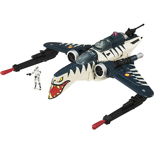 Star Wars Transformers Blue ARC-170 Starfighter 170