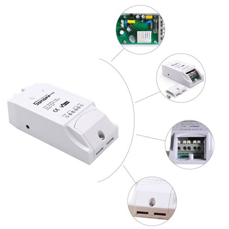 TH16 DIY 16A 3500W Smart Home WIFI Home swich Wireless Temperature Humidity Thermostat Module APP Remote Control Switch Socket - image 6 of 10