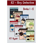 Rj - Boy Detective Books 1-8 : Fun Short Story Mysteries for Children Ages 9-12