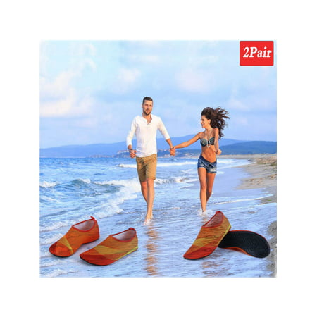 Women Men's Skin Water Shoes Aqua Socks Yoga Exercise Pool Beach Dance Swimming Shoes Slipper On Surf Outdoor Sport