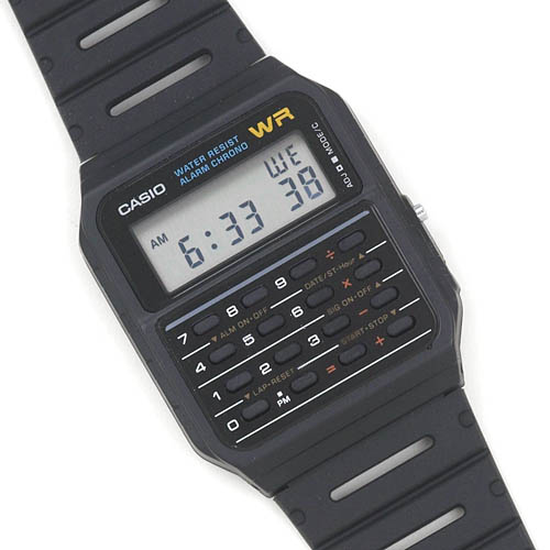 Casio Classic Calculator and Calendar Watch