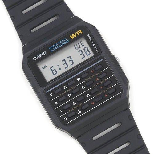 55f22fb24 Casio - Classic Calculator and Calendar Watch - Walmart.com