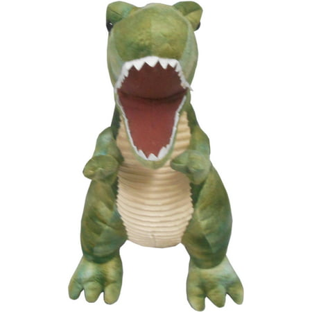 Large T Rex Plush Green Walmart Com